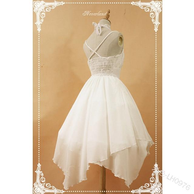 Фото милое платье принцессы в стиле «лолита» винтажное с бантом и
