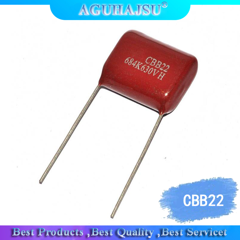 10PCS CBB22 Capacity 630V 474J 470NF 0.47UF 630V/474 Leg Distance 20MM