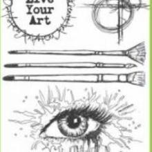 Stamp-Seal Eye-Background Diy Scrapbooking Transparent Silicone for Photo-Album Decorative