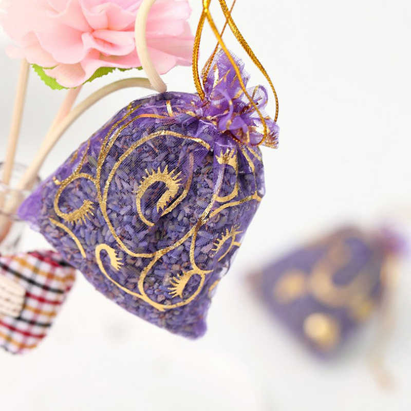 5G NATURAL Lavender Bud ดอกไม้แห้งซองกระเป๋าน้ำมันหอมระเหยโฮมออฟฟิศกลิ่น REFRESH Air กลิ่นหอมตกแต่ง C Y3W1