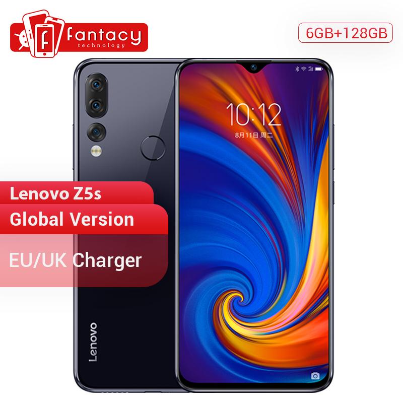 Global Version Lenovo Z5s 6GB 128GB Snapdragon 710 AIE Octa Core smartphone 6.3\