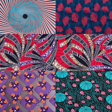 1Yard patchwork fabric real dutch wax cheap high quality Africa dress craft accessory textile material Hot sale patterns printed