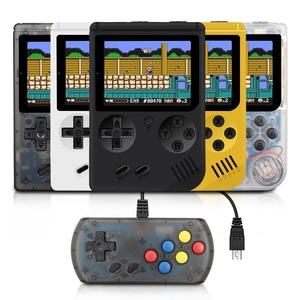 Image 1 - RS 6A Coolbaby רטרו נייד מיני כף יד משחק קונסולת 8 קצת 3.0 אינץ צבע LCD ילדים צבע משחק נגן נבנה ב 168 משחקים