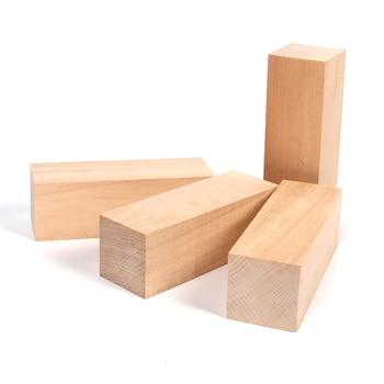 """XIAPINMOON 4 Uds Basswood bloques para tallar para Carveing más adecuado para principiantes a expertos 4 Uds con cuatro 6 """"x 2"""" x 2 """"sin terminar"""