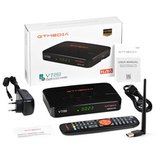 Gtmedia V7 Pro Satelliet Tv Ontvanger Decoder DVB-S/S2/S2X + T/T2 Ondersteuning H.265 Gebouwd-in Wifi T2MI Spanje Pk Freesat V7 Plus Tv Box