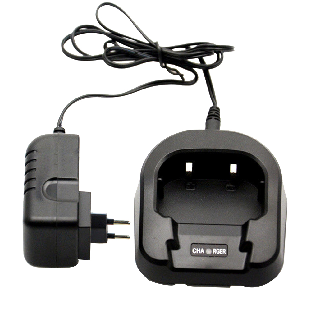 Walkie Talkie With Adapter Voltage Indicator Light Battery Charger Professional Desktops Durable Radio For Baofeng UV 82