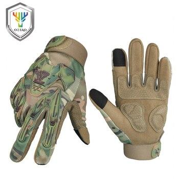 OZERO guantes de carreras de motos Mechanical deportes calientes impermeables antideslizantes contra...
