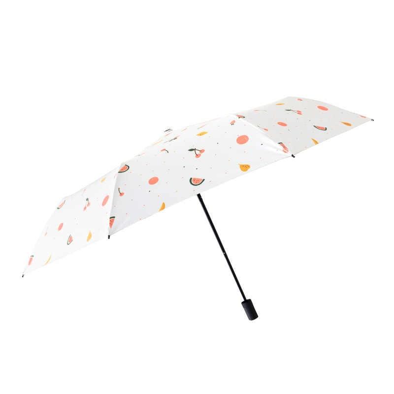 Parapluie de fruits frais d'été ins parapluie protection solaire UV parapluie parapluie automatique pour femme et étudiants parasol
