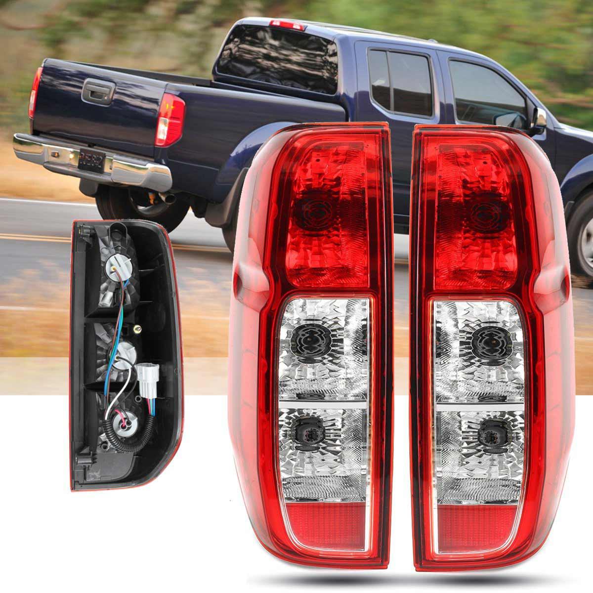 Красный задний светильник тормозной светильник задний стоп-сигнал светильник задние предупреждающие светильник для Nissan Navara D40 2005 2006 2007 2008 ...