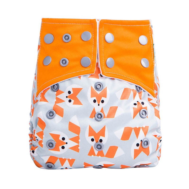Washable Cloth Diapers For Baby Cloth Diapers All In One Reusable Nappy AIO AOS3