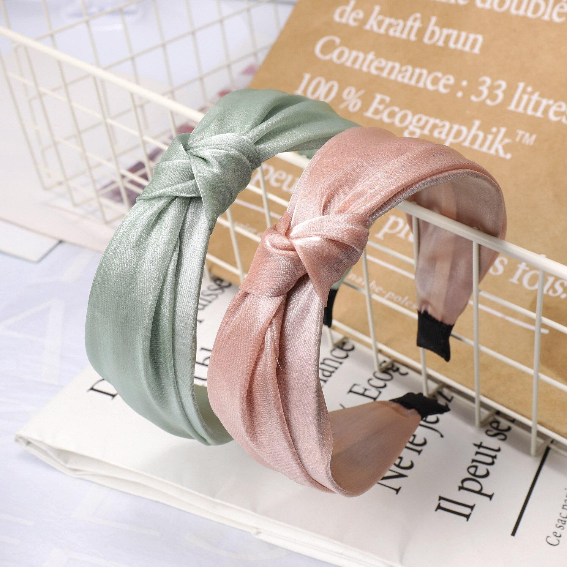 laço nó hairbands ferramentas estilo do cabelo acessório ha1483