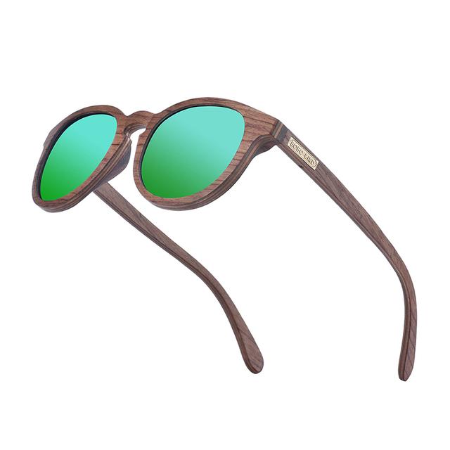 BOBO BIRD Wood Sunglasses Women Men 2020 Luxury Polarized Sun Glasses Ladies UV400 Eyewear Frame Arm in Gift box Dropshipping