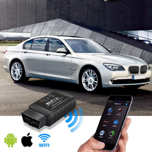 WiFi OBDII ELM327 OBD2 Auto Scanner Compatible With IPhone Android PC Car Diagnostic Code Reader Scan Tool
