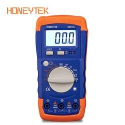 HONEYTEK cyfrowy miernik pojemności kondensator elektroniczny miernik pojemności elektrycznej LC miernik indukcyjności narzędzie diagnostyczne podświetlenie LCD Tip