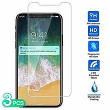 Joomer 3 Pcs High Quality Tempered Glass For Xiaomi Redmi Note 9 8T 8 7 Pro 7s Screen Protector(China)