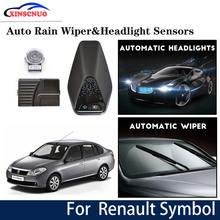 Автомобильный смарт датчик стеклоочистителя и фары для renault