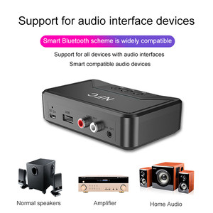 Image 4 - חם BT200 Bluetooth 5.0 אודיו מקלט NFC 3.5mm AUX RCA שקע Hifi אלחוטי מתאם אוטומטי לרכב אלחוטי אוטומטי מתאם