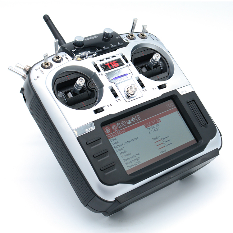 Em estoque! T16 Open Source Multi-protocolo 16CH JP4-in-1 RF Módulo Transmissor de Rádio 2.4G 4.3