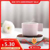 THN NBD01 Sensor Switch Warm Cup Mat USB 5V PI Heating 55 Degree Insulation Base Keep Drink Warm Heater Mugs for Home