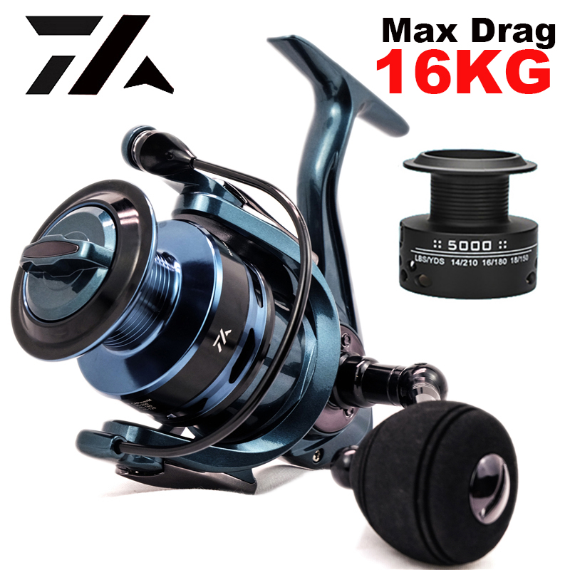 High Quality 14+1BB Double Spool  Fishing Reel 5.5:1 4.7:1 Gear Ratio High Speed Spinning Reel Casting reel Carp For Saltwater 1
