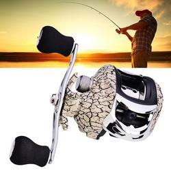 Metal Water Drop Fishing Reel Gear Ratio12 + 1BB wał wiszący Sea Fishing 7.2: 1 wał wiszący kołowrotek prawy i lewy