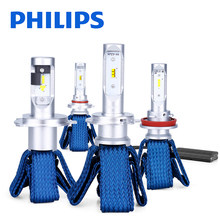 Philips H4 LED H7 H11 H8 H16 HB3 HB4 HIR2 9012 LED Car Headlight Bulbs 6000K Fog Lights luces led para auto diode lamps for cars