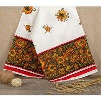 Linen towel Khokhloma 150 x 36 2924947