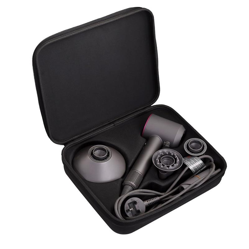 Caixa de armazenamento para viagem, caixa de armazenamento para viagem, eva, oxford, pano, quadrado, de ferramentas para secador de cabelo suônico dyson