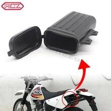 ACZ Motorrad Pit Dirt Trail Box Halter Flasche Off Road Motocross Werkzeug Container Für Suzuki DR250 Djebel TW200 TW225 teile