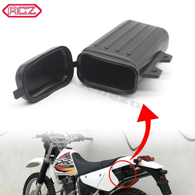 ACZรถจักรยานยนต์Pit Dirt Trailกล่องผู้ถือขวดOff Road Motocrossเครื่องมือคอนเทนเนอร์สำหรับSuzuki DR250 Djebel TW200 TW225อะไหล่