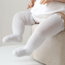 Stockings Girls Baby-Boys Child Autumn And Plain Stripe Spring Comfortable Over-Knee