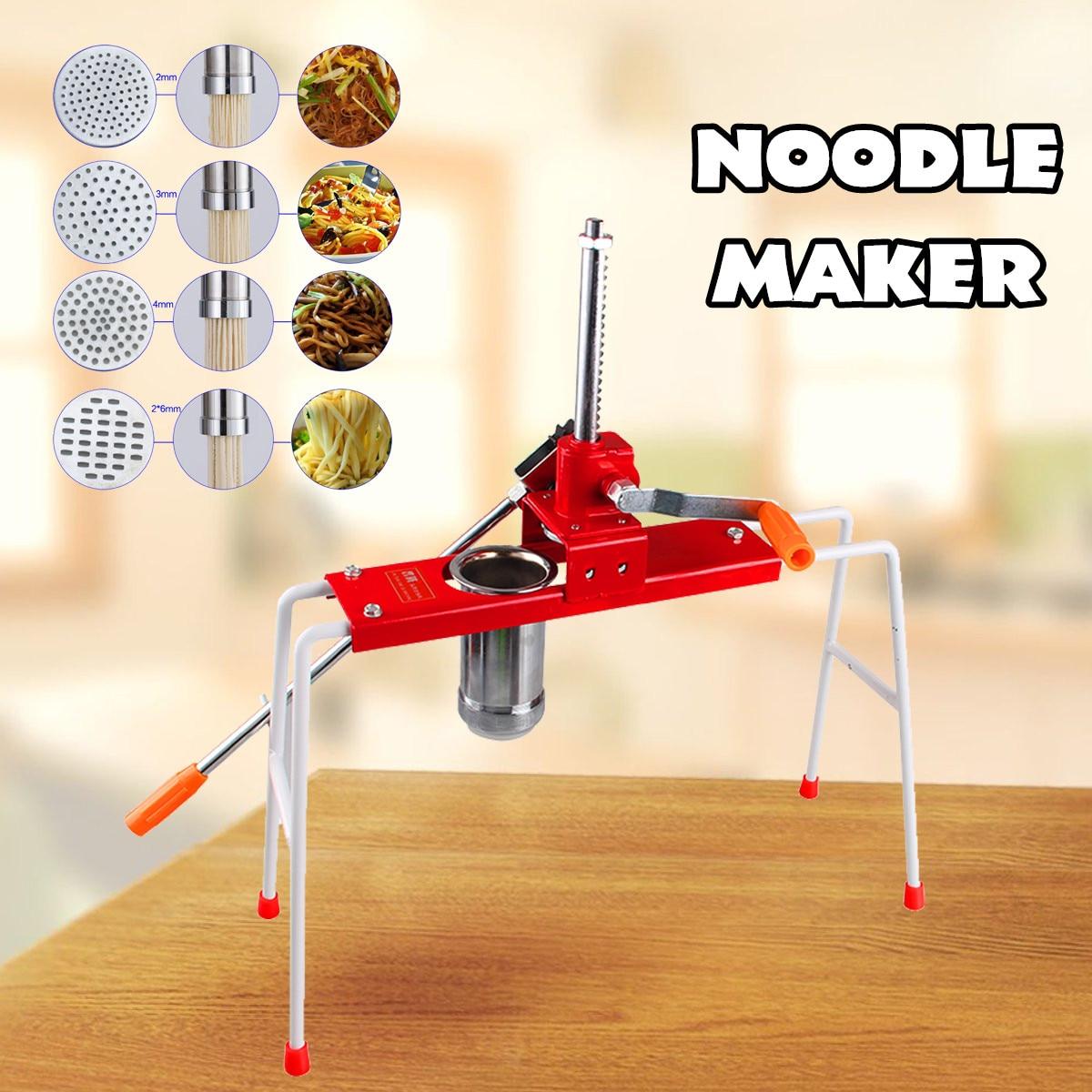 ghdonat.com HYYKJ Commercial Pasta Maker Hand Press Noodle Making ...