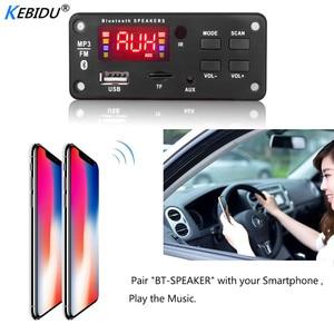 Image 3 - Kebidu Kleur Screen 12V MP3 Wma Draadloze Bluetooth 5.0 Decoder Board Audio Module Usb Fm Tf Radio Aux Input geen Versterker Voor Auto