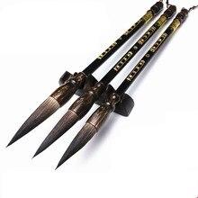 3 pz/lotto calligrafia penna orso pelo duro lian scrittura pennello insieme di spazzola Cinese paesaggio pittura a inchiostro della penna della spazzola pittura forniture