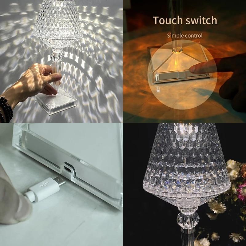 luz para barra quarto cabeceira cafe cristal 05