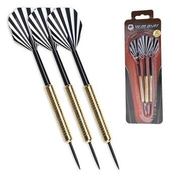 WINMAX Brass Barrels Soft/Steel Tip Darts Set for Electrical/Plastic Dartboard 16G 18G 22G