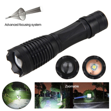 Led-Lamp Tactical-Flashlight Hunting-Torch White-Light for Camping 2000LM T6 XM-L Water-Resistant