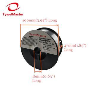 Image 5 - Fio cored gasless do fluxo do fio ER70S 6 da soldadura de mig E71T GS 1kg 0.6/0.8/0.9mm escudo do gás ou nenhum material de soldadura do aço carbono do gás