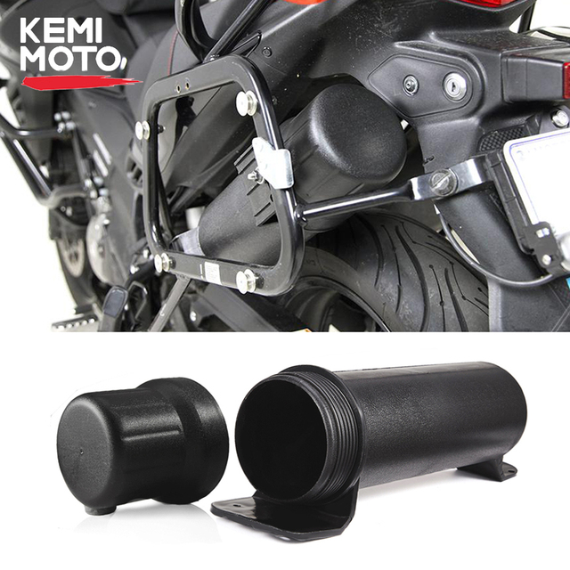 KEMiMOTO Universal Motorcycle Tool Tube Accessories Waterproof Gloves Storage Box For BMW For Honda For YAMAHA For Kawasaki