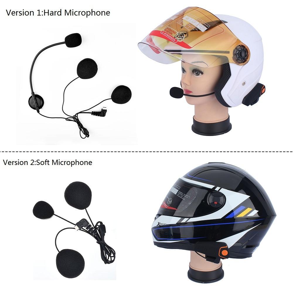Image 4 - Fodsports BT S2 Pro Motorcycle Intercom Helmet Headset Wireless Bluetooth Waterproof Interphone Intercomunicador Moto FM-in Helmet Headsets from Automobiles & Motorcycles