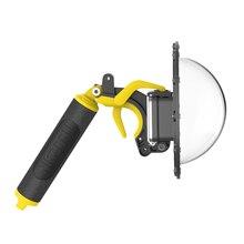 TELESIN 6 Porta Cupola 30M Custodia Impermeabile Custodia per GoPro hero 8 Nero con il Sacchetto Di Immagazzinaggio Trigger Cupola obiettivo di copertura Accessori