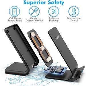 Image 2 - FDGAO 15W Qi support de chargeur sans fil pour iPhone 11 Pro Max XR Xs Max X QC 3.0 Station de recharge à Induction rapide pour Samsung S10 S9