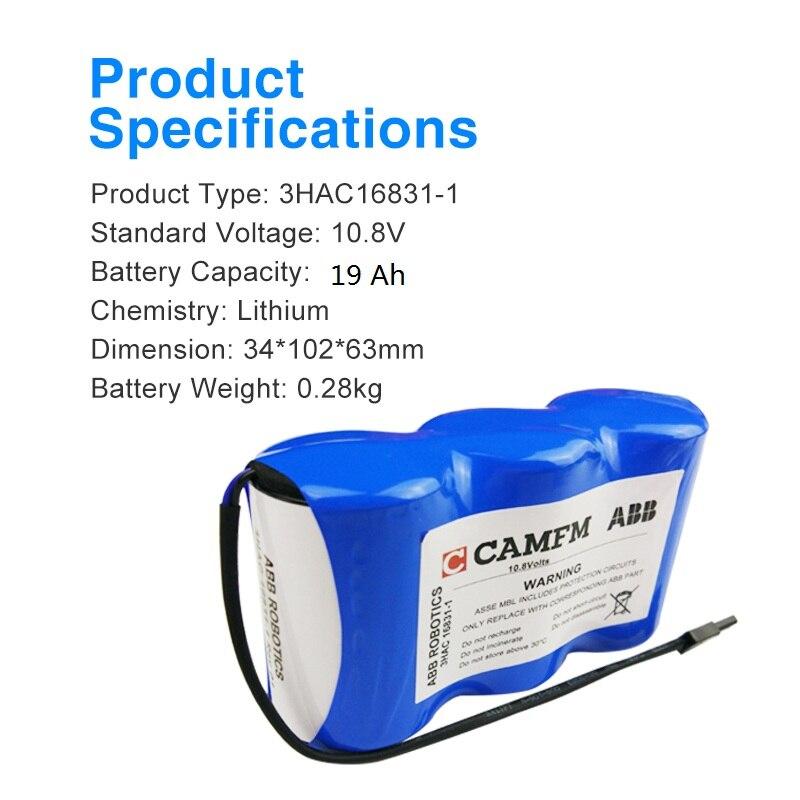 New ABB 3HAC16831-1 Battery 10.8V #