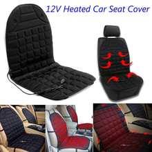 12 v aquecida assento de carro capa de almofada de assento de automóvel aquecedor de almofada de carro elétrico aquece a capa de assento aquecida