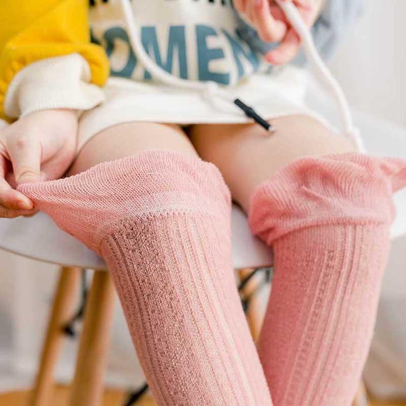 Baby Socks Summer Thin Knee Socks Men And Women Children Wang Yan Mian Anti-mosquito Hose BABY'S Socks
