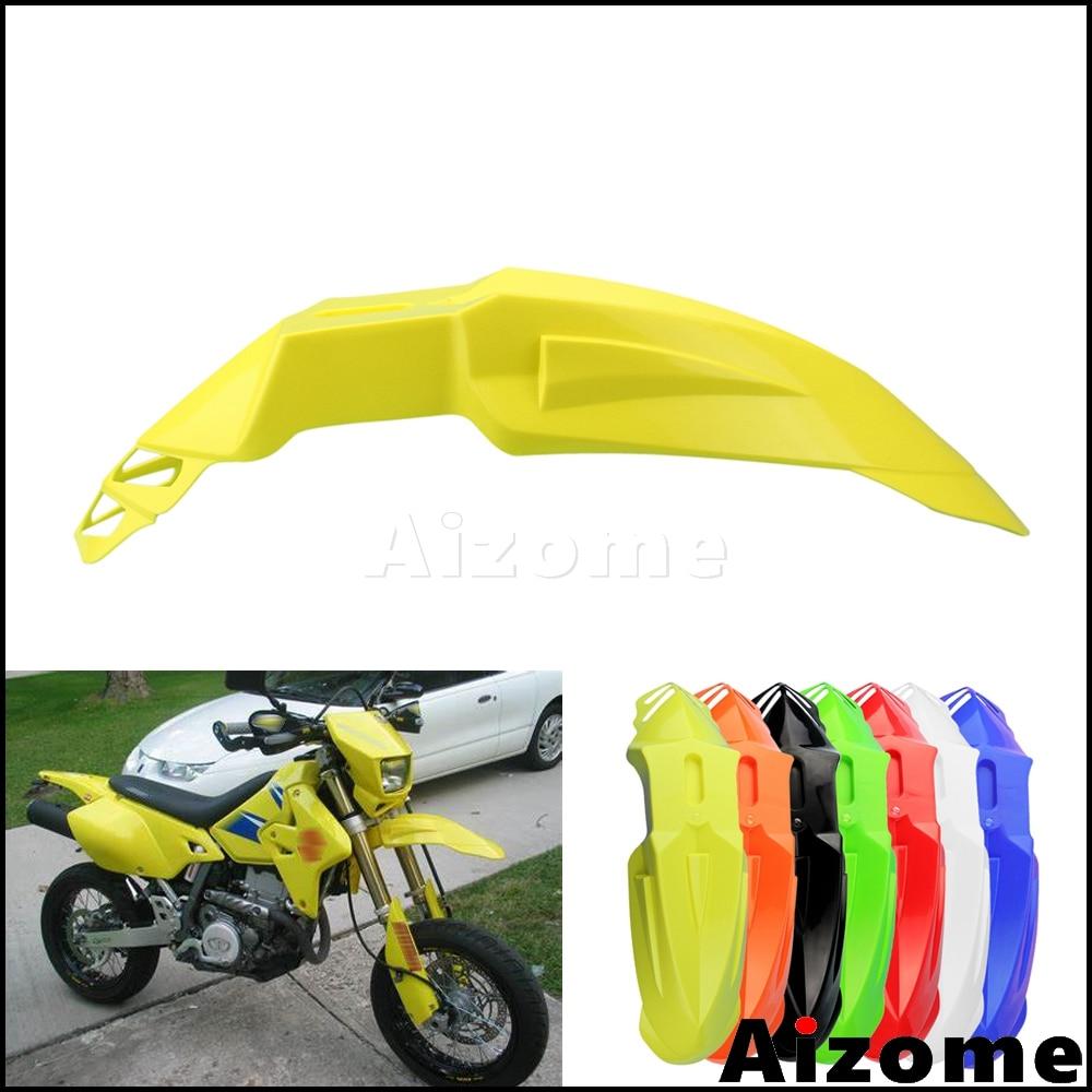 Универсальное переднее крыло для мотоцикла SM крыло для Suzuki Модель rmz RM DRZ 400 125 250 450 Supermoto крыло желтый