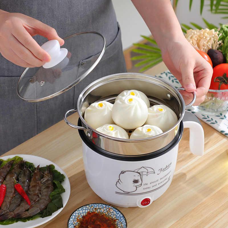 Nouveaux produits Style coréen antiadhésif cuisinière électrique étudiants dortoir Pot nouilles instantanées Pot cuisson crêpes antiadhésif Pot Sm