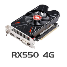 VEINIDA Grafikkarte Radeon Rx550 GPU 4Gb Gddr5 128bit Pci Express 3,0 Directx12 Video Gaming Für Desktop