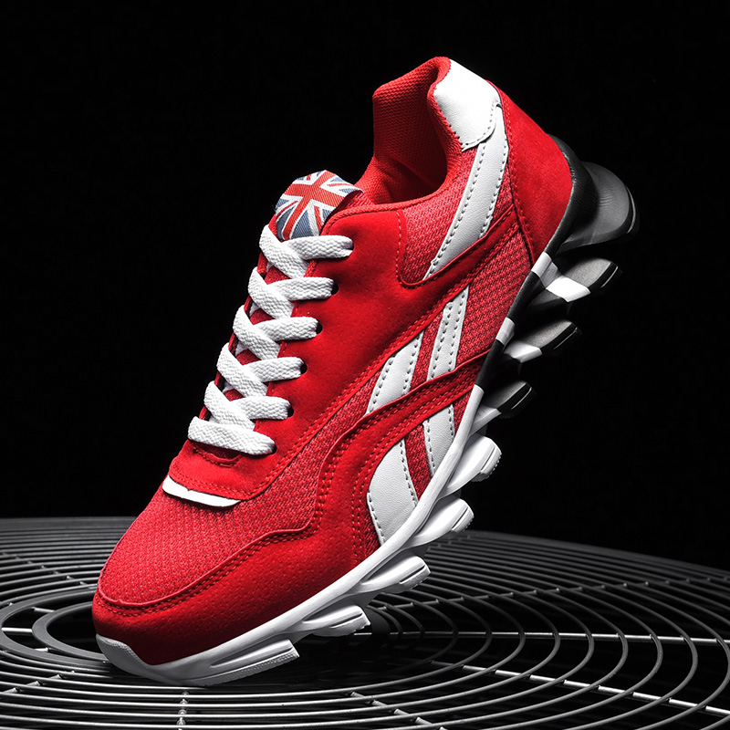 Damyuan Men Lightweight Casual Running Shoes Shockproof Lack Up Breathable Male Sneakers Big Size 46 Walking Gym Shoes Man