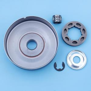 """Image 3 - 3/8"""" Clutch Drum Rim Sprocket Kit For Stihl MS261 MS260 MS240 026 024 MS 260 240 Chainsaw Small 7 Spline 19mm Spare Parts"""